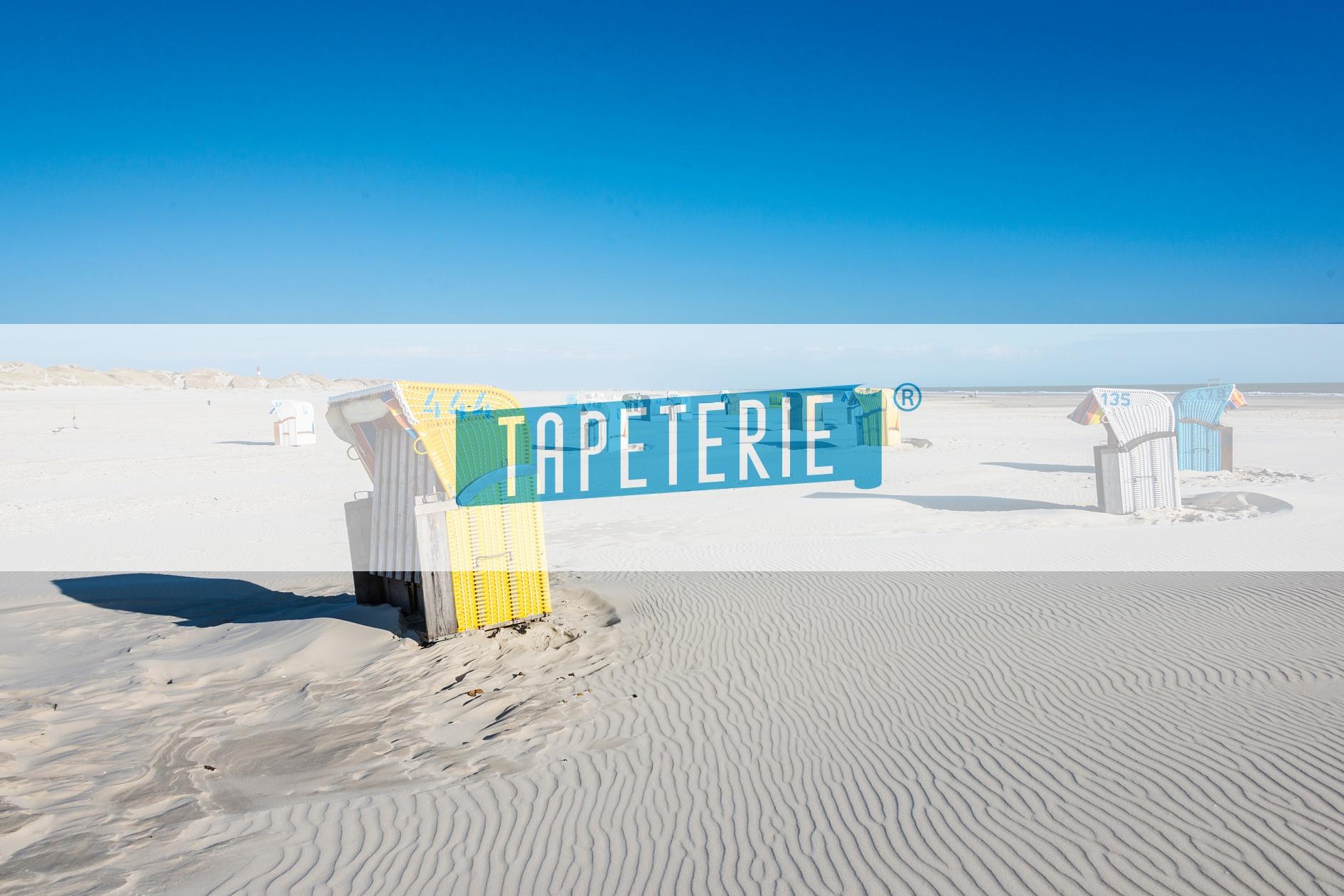designer udo bernhart ein strandkorb von vielen auf amrum tapeterie. Black Bedroom Furniture Sets. Home Design Ideas