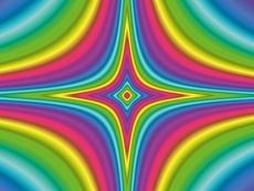 Design-Serie Farb-Sterne 12