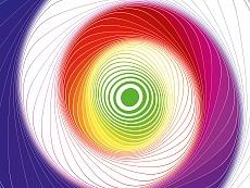 Design-Serie Farb-Spirale 2