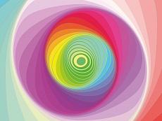 Design-Serie Farb-Spirale 3