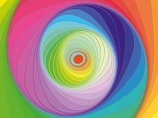 Design-Serie Farb-Spirale 4