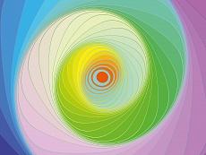 Design-Serie Farb-Spirale 5