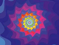 Design-Serie Farb-Spirale 7