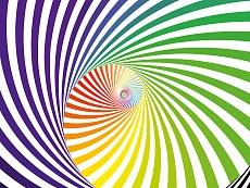 Design-Serie Farb-Spirale 8