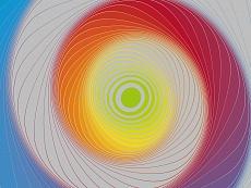 Design-Serie Farb-Spirale 9