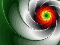 Design-Serie Farb-Spirale 16