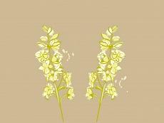 Natur im Raum, Farbvariante: braun, beige, grün
