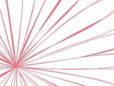 Strahlen, Farbvariante: midrosa