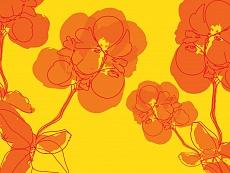 Blüten abstrakt 05