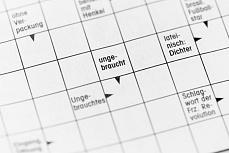 Designer Foto eines Rätsels – Kreuzworträtsel 2