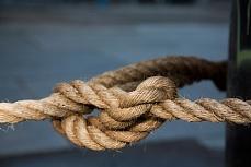 Nicht vergessen, ein Knoten