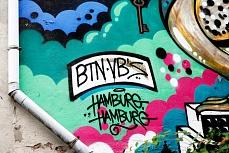 Graffiti an Hauswand II