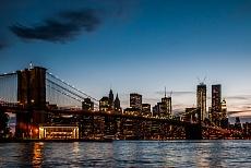 Brooklyn Bridge - blue hour