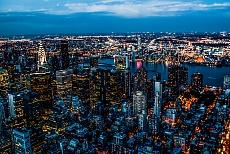 NYC sea of lights