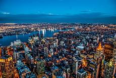 NYC sea of lights IV