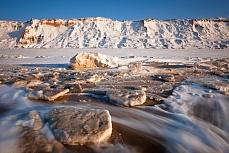 Fototapete mit Bergmotiv - Rotes Kliff