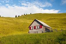 Fototapete mit Bergmotiv - Alp Boschgeren