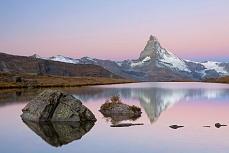 Fototapete mit Bergmotiv - Matterhornmorning