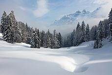 Winterlandschaft am Spicher