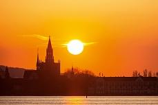 Konstanz Münster Sonne