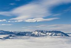 Foto-Tapete mit Bergmotiv - Untersberg