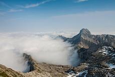 Altmann über dem Nebelmeer