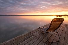 Liegeplatz Sonnenaufgang