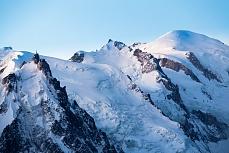 Aig Midi und Mont Blanc