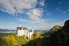 Herbst am Schloß Neuschwanstein