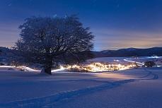 Hofsgrundblick im Winter