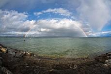 Regenbogen Güttingen Fischauge