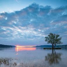 Sonnenuntergang Klausenhornabend