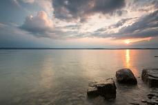 Sonnenuntergang Meersburgufer