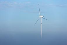 Windenergie im Nebel