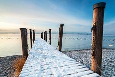 Wintermorgen Allensbach