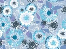 Blumenfläche