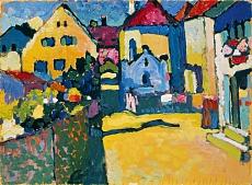 Grüngasse in Murnau. 1909