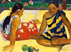 Zwei Frauen von Tahiti. 1892
