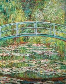 Japanische Brücke. 1899