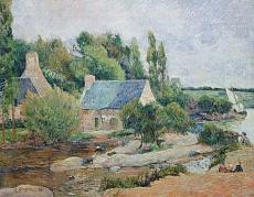 Die Wäscherinnen von Pont-Aven. 1886