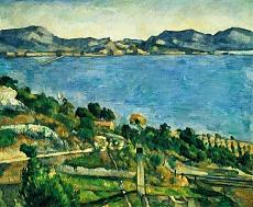 L'Estaque. Landschaft im Golf von Marseille. Gegen 1878/79