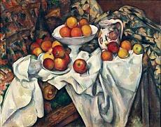 Stilleben mit Äpfeln und Orangen. Um 1895/1900