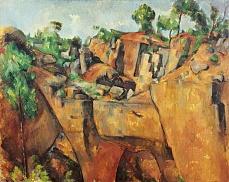 Steinbruch bei Bibémus. 1898/1900