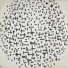 Komposition mit Linien. 1916