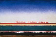 Kunst Tapete aus dem Expressionismus - Kazimir Severinovich Malevich, Rote Kavallerie