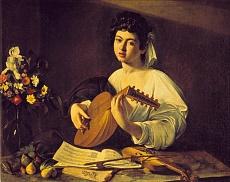 Junger Lautenspieler. Um 1595