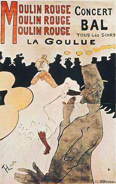 La Goulue au Moulin Rouge, 1892