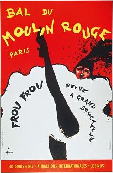 Bal du Moulin Rouge Paris; Frou Frou - Revue à Grand Spectacle