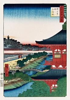 Der Tempel von Zojoji, Akabane