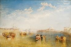 Kunst Tapete aus der Romantik - William Turner, Giudecca, La Donna Della Salute und San Giorgio